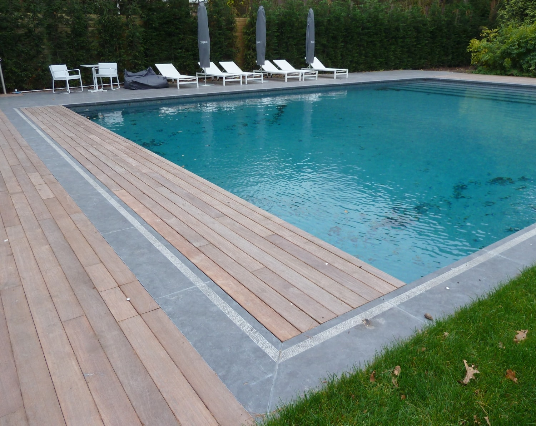 Terrassen zwembaden met stijl for Zwembad houtlook
